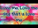 Justin Bieber- Love Me Lyrics