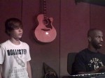 Justin singing You Got It Bad with B. Cox