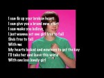 One less lonely girl-Justin Bieber with lyrics