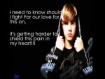 that shoul be me video – justin bieber w/ lyrics