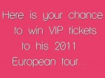 Win VIP tickets to see Justin Bieber in Paris 2011