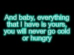 Chris Brown ft. Justin Bieber – Next 2 You / Next To You + [Lyrics on Screen]
