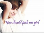 Justin Bieber – Pick Me [Lyrics]