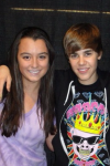 My Bieber Experience was on November 11, 2010 (11/11 ironic…