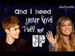 Justin Bieber ft. Miley Cyrus- Overboard Lyrics