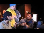 Under The Mistletoe Webisode – Usher and Justin in the Studio (The Christmas Song – Chestnuts)