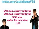 Justin Bieber – Mistletoe (Lyrics on screen)
