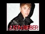 Justin Bieber's Christmas Album Cover