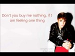 Mistletoe – Justin Bieber (Lyrics on screen)