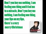 Mistletoe – Justin Bieber (Lyrics)