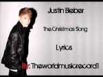 Justin Bieber Ft. Usher – The Christmas Song ( lyrics on screen ) (Audio)