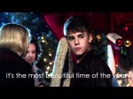 [HD] Justin Bieber – Under the Mistletoe – Lyrics video (+official audio)