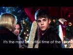 [HD] Justin Bieber – Under the Mistletoe – Lyrics video (+official audio)