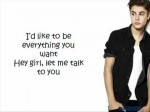 Justin Bieber – Boyfriend Lyrics ft. Mike Posner