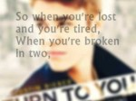 Turn To You – Justin Bieber – Lyrics (Mother's Day Dedication)