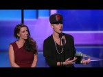 Justin Bieber – Justin Wins Artist of the year – AMA 2012