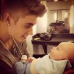 Justin Bieber As A Uncle Finally Met