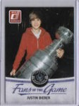 2010-11 Donruss Fans of the Game 3 Justin Bieber