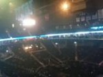 before justins concert started at Barclay's Center Nov12 2012