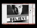Edit your picture like Justin Bieber's Album Cover Believe ~ Tutorial with Gimp