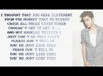 Justin Bieber – Just Like Them (Lyrics On Screen)