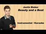 Justin Bieber | Beauty and a Beat | Rock Instrumental / Karaoke