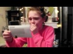 Amy's Justin Bieber tickets reaction Xmas 2012