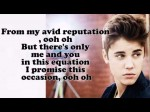 Justin Bieber – Take You (Acoustic) [Lyrics On Screen] Believe Acoustic