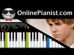 Justin Bieber – Nothing Like Us (Believe Acoustic Album) – Piano Tutorial