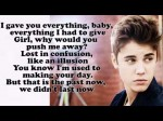Justin Bieber – Nothing Like Us [Lyrics On Screen]
