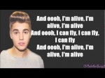Will.i.am ft. Justin Bieber – That Power (NEW 2013) Lyrics On Screen
