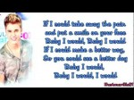 Justin Bieber – I Would {Lyrics}