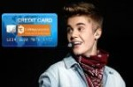 Justin Bieber Credit card scam