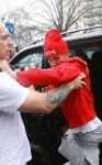 Justin Bieber tries assaulting a photographer in London