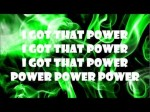 Will.i.am – That Power feat. Justin Bieber (Lyric Video) New Song 2013