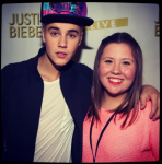 My name is Sara, and I'm a Spanish belieber. I can't believe I…