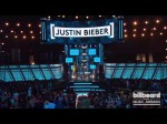 Justin Bieber receives the Milestone  Award at the 2013 Billboard Music Awards