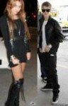 Miley Cyrus Justin Bieber ready for photoshoot