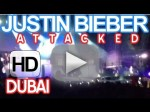 Justin Bieber Gets Attacked In Dubai Concert – Crazy Fan Attacks Justin Bieber While Performing [HQ]