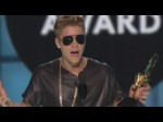 Justin Bieber slams his critics as he picks up Billboard Award