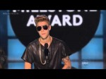 Justin Bieber Receives The Milestone – Billboard Awards 2013