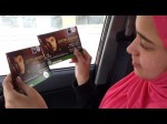 Nora Khalaf happy with her Justin Bieber Dubai Concert tickets.