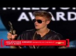 Justin Bieber Wins 'Milestone Award' @ 2013 Billboard Music Awards 2013