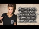 Justin Bieber ft. Michael Jackson Slave To The Rhythm (Lyrics On Screen) Official Audio HD