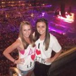 Justin Bieber concert with the best friend (: