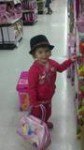 Amaris found the I love justin bieber hat