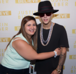 I'm Brianna and this is my Bieber experience. I met Justin on…