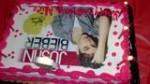 Alices Bday Her Justin Bieber Cake