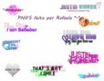 png's – Justin Bieber