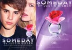 Someday by JUSTIN BIEBER 2011 US recto-verso avec bande parfumeacutee (Sephora)